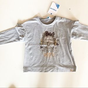 Mayoral Girl's Long Sleeved Top NWT